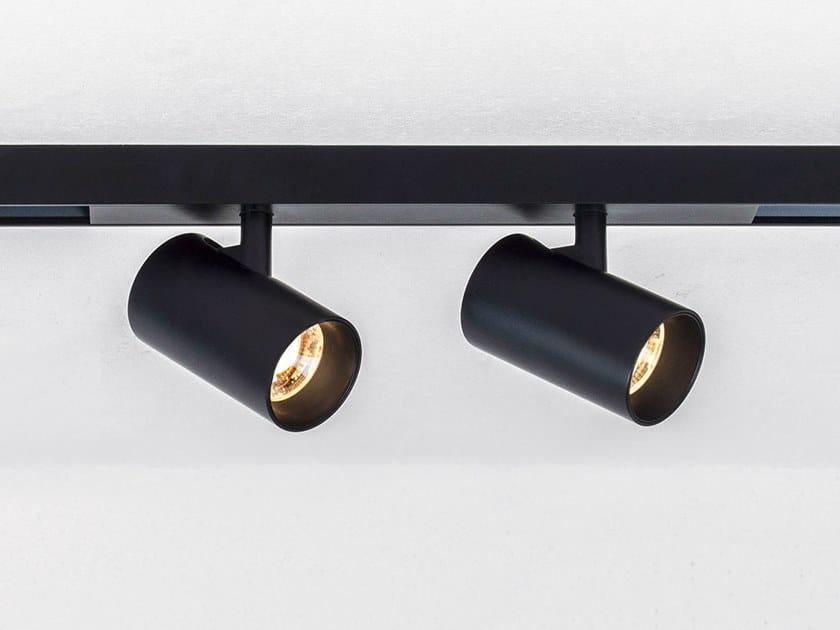 Illuminazione a binario a LED in alluminio verniciato a polvere TARE XS2 MAGNETIC by HER