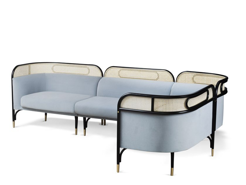 Sectional modular sofa TARGA | Modular sofa by Wiener GTV Design
