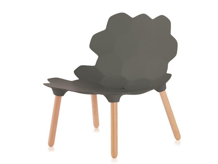 Polyurethane chair TARTA | Chair by SLIDE