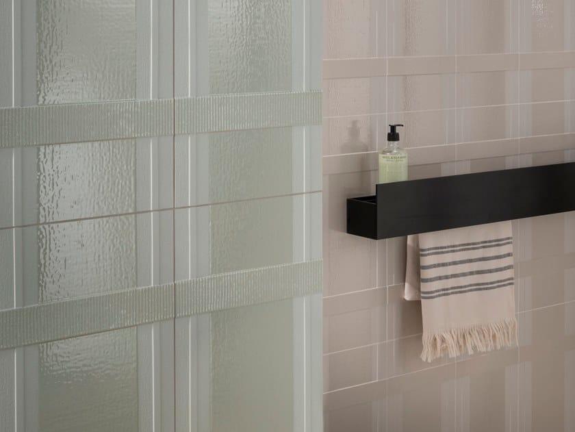 Glazed stoneware wall tiles TARTAN by DECORATORI BASSANESI