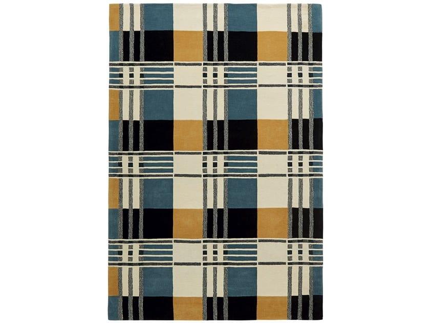 Rectangular rug with geometric shapes TARTAN by Toulemonde Bochart