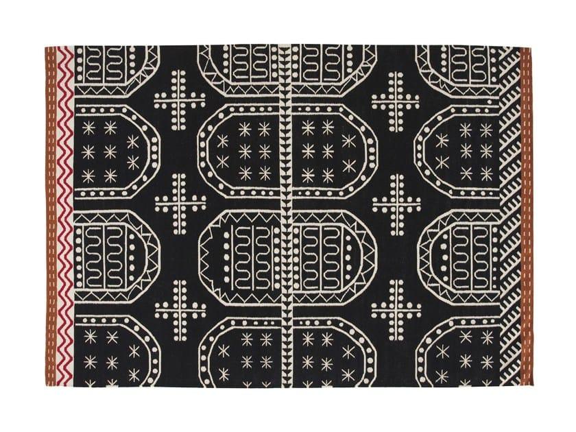 Handmade wool rug TASILI by GAN