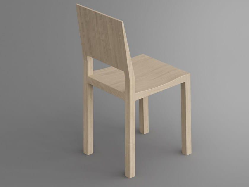 Sedia in legno massello TAU | Sedia - Vitamin Design
