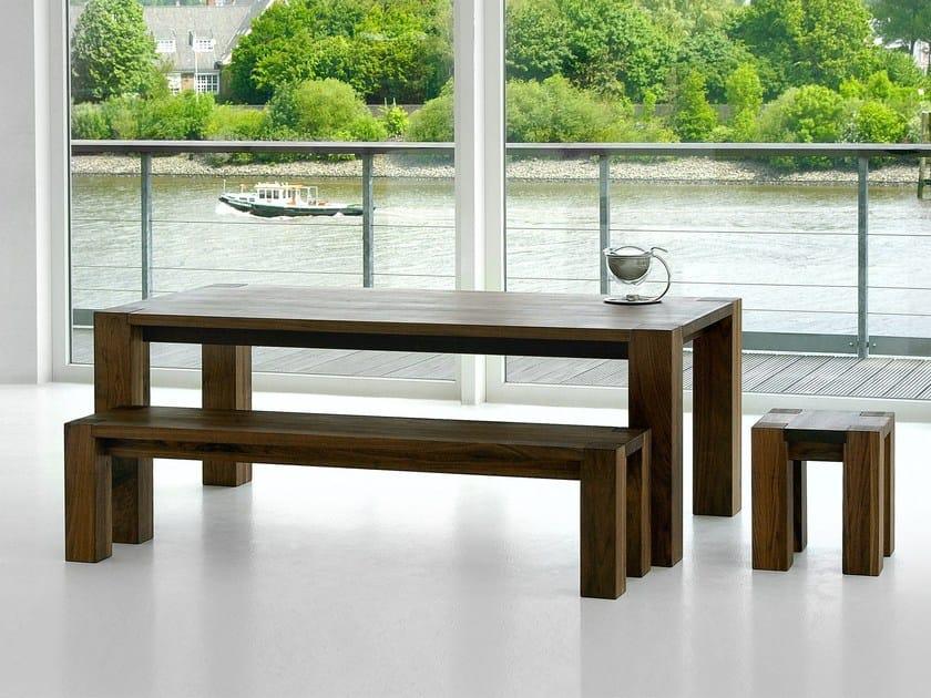 Sgabello In Legno Design : Sgabello in legno massello taurus sgabello vitamin design