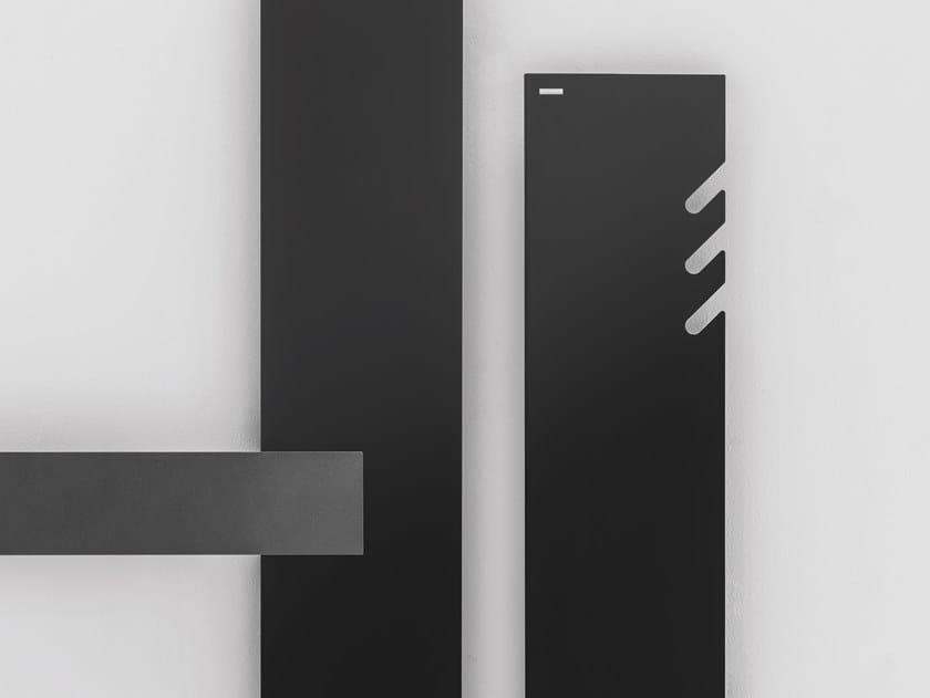 Termoarredo verticale in alluminio a parete TAVOLA 3 SPACCHI by ANTRAX