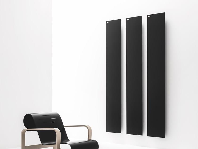 Termoarredo verticale in alluminio a parete TAVOLA LISCIA by ANTRAX