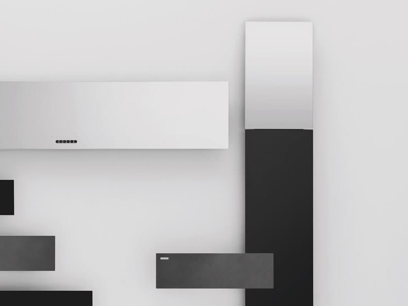 Termoarredo verticale in alluminio a parete TAVOLA SPECCHIO by ANTRAX
