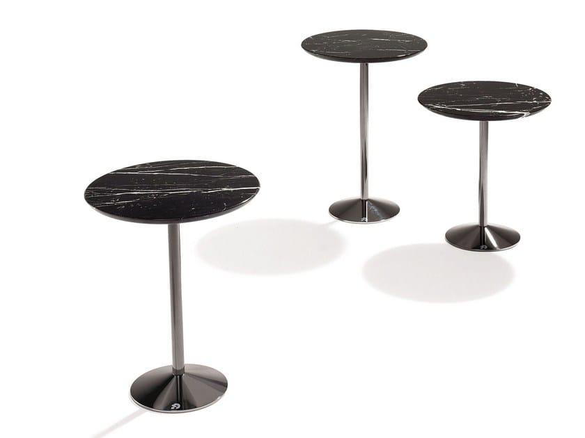 Stone high side table TAVOLINO by Draenert