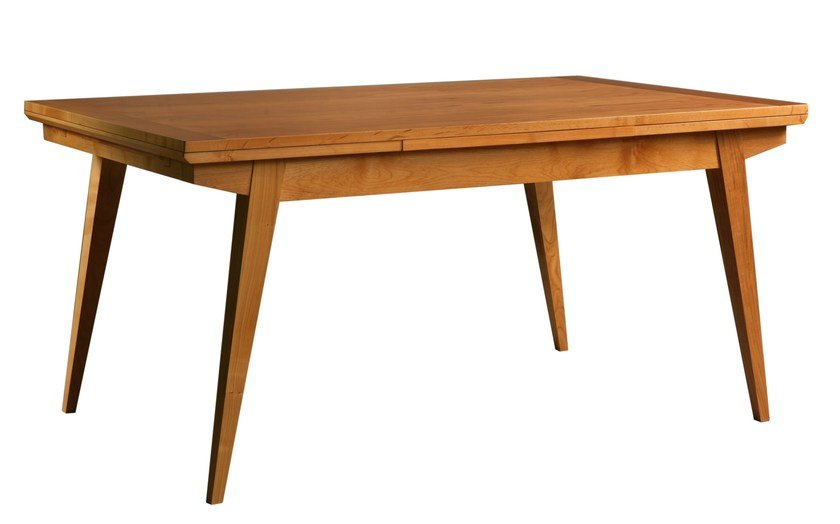Extending cherry wood table CAVALLETTO by Morelato