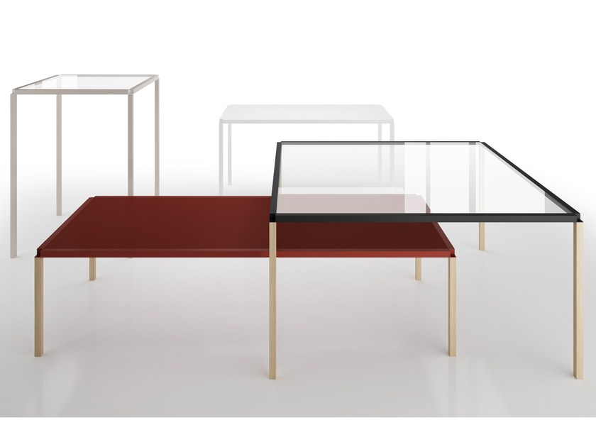 Rectangular coffee table TAVOLO ZERO 400 - Z04 by Alias