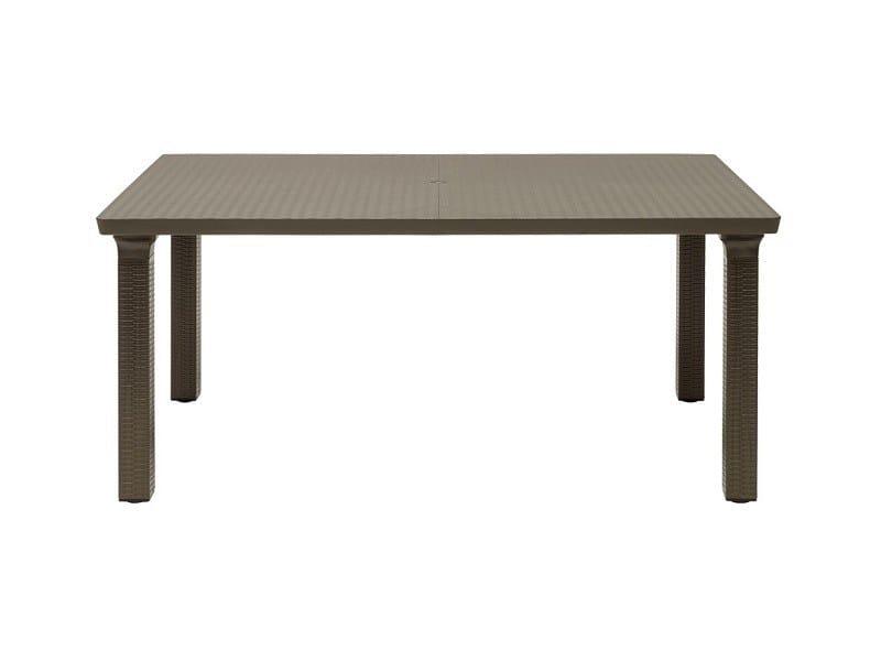 Tavolo da giardino rettangolare in alluminio in stile moderno TAVOLONE   Tavolo rettangolare by SCAB DESIGN