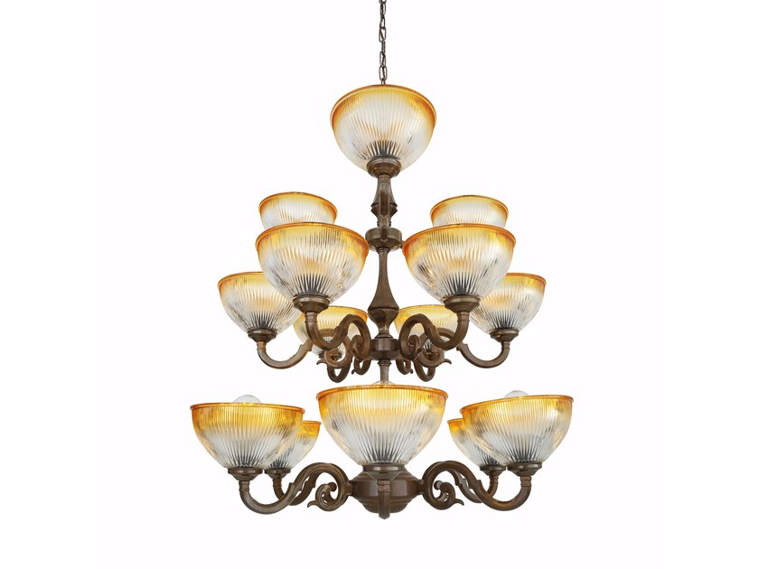 Chandelier TAWAU 3 Tier by Mullan Lighting