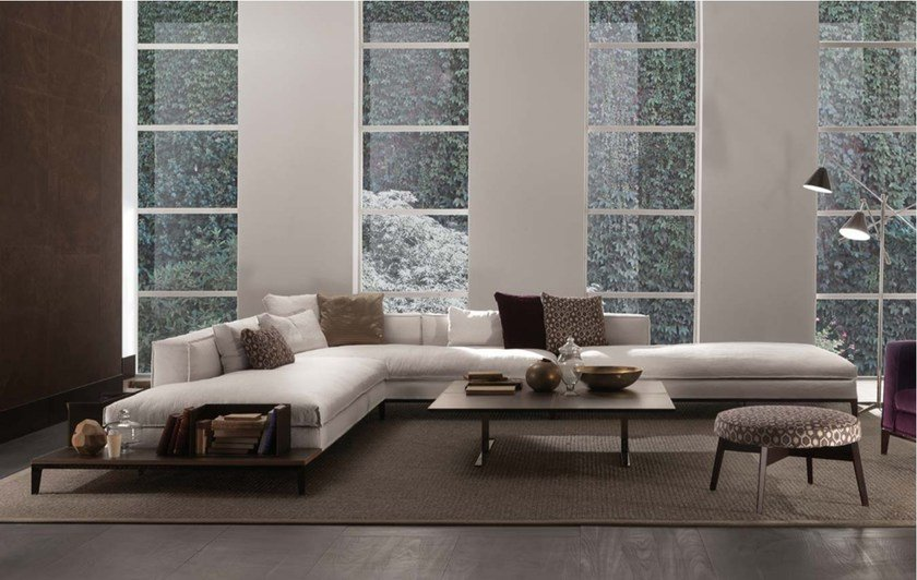 Sectional Fabric Sofa TAYLOR | Fabric Sofa By Frigerio Salotti