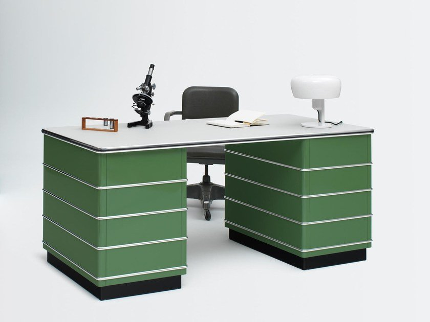 Office desks with drawers Grey Archiproducts Steel Office Desk With Drawers Tb 229 By Müller Möbelfabrikation