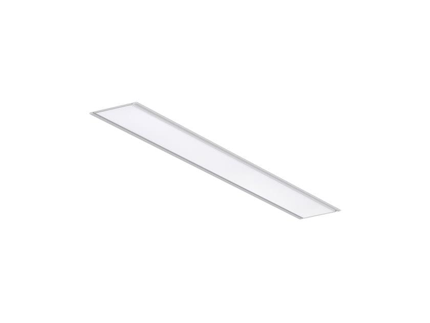 LED semi-inset die cast aluminium ceiling lamp TCH /E LED by INDELAGUE | ROXO Lighting