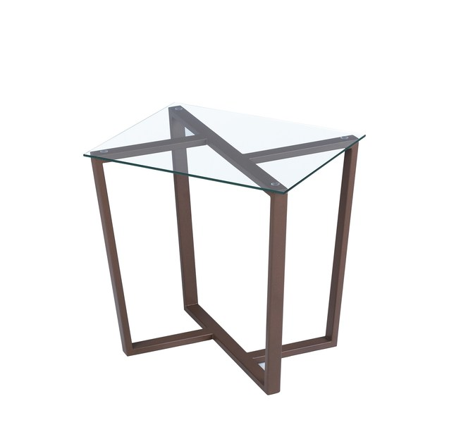 Contemporary style glass table TCHE by ENVY