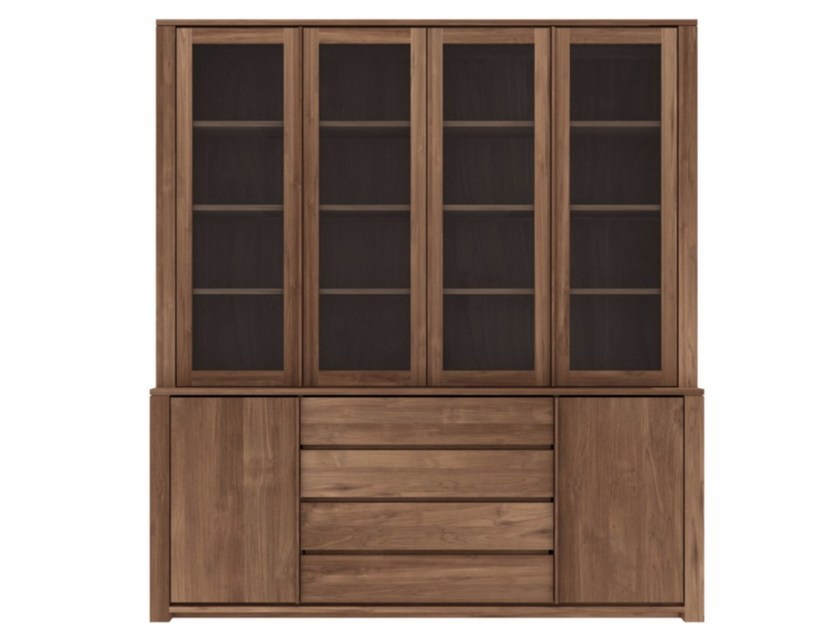 Teak highboard TEAK LODGE | Teak highboard by Ethnicraft