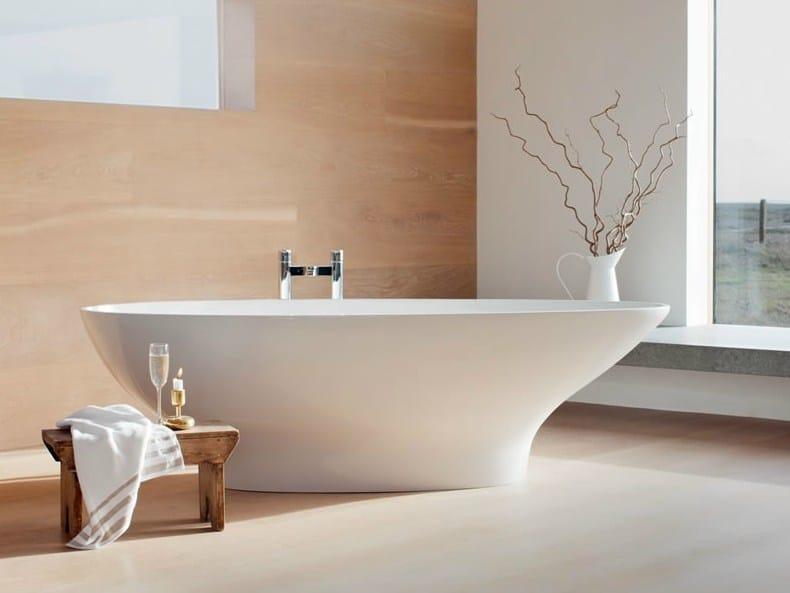 Freestanding oval bathtub TEARDROP by Polo