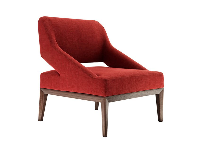 Fabric armchair TEATRO | Armchair by HC28