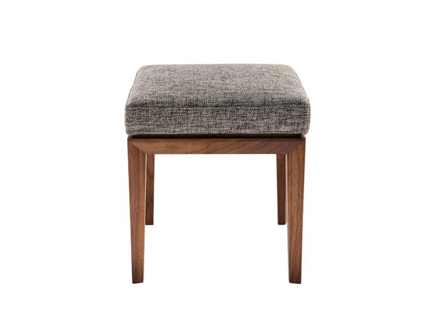 Low upholstered fabric stool TEATRO | Stool by HC28
