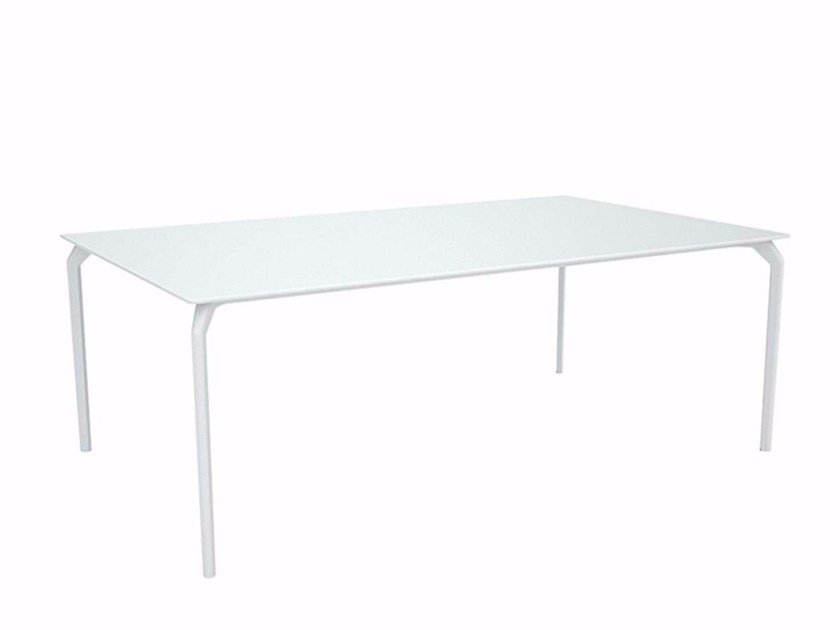Lacquered rectangular table TEC 1000 - 632 by Alias