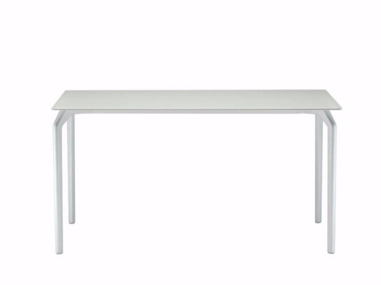 Lacquered rectangular table TEC 700 - 629 by Alias