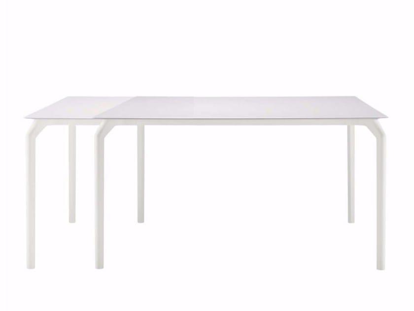 Extending rectangular table TEC 800E - 639 by Alias
