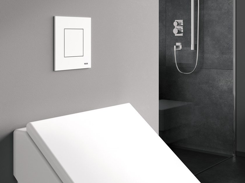 Plastic flush plate TECEnow Urinal by TECE