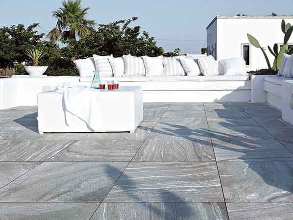 Indoor/outdoor porcelain stoneware Raised flooring TECH#2 by Floor Gres