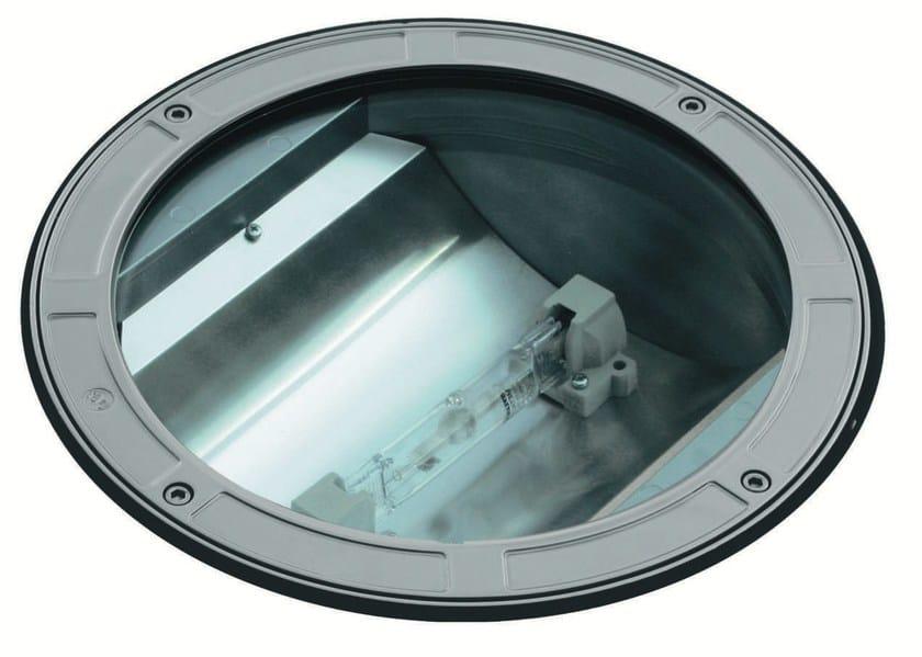 Walkover light halogen die cast aluminium steplight TECH F.1086 by Francesconi & C.