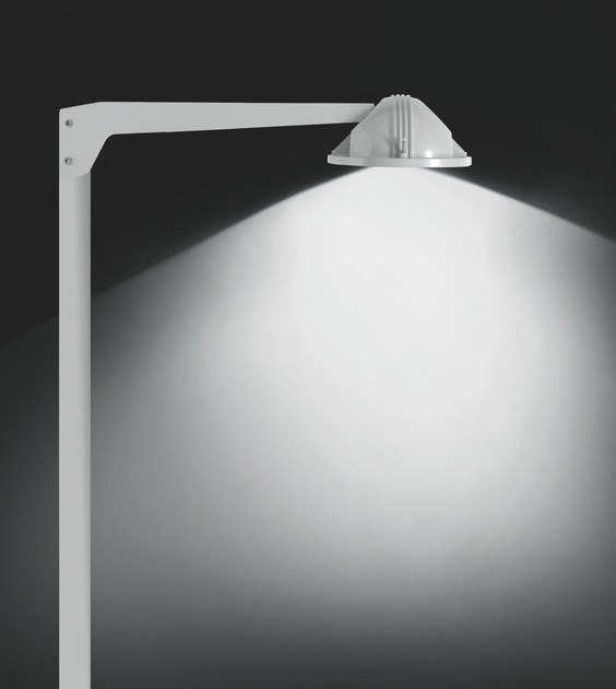 Contemporary style metal street lamp TECH F.8395 by Francesconi & C.