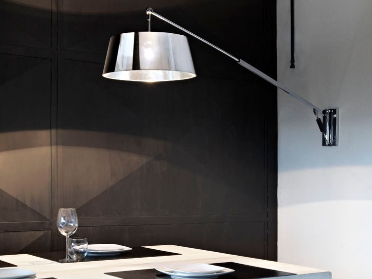 Adjustable wall lamp TECHNO | Wall lamp by ANNA LARI