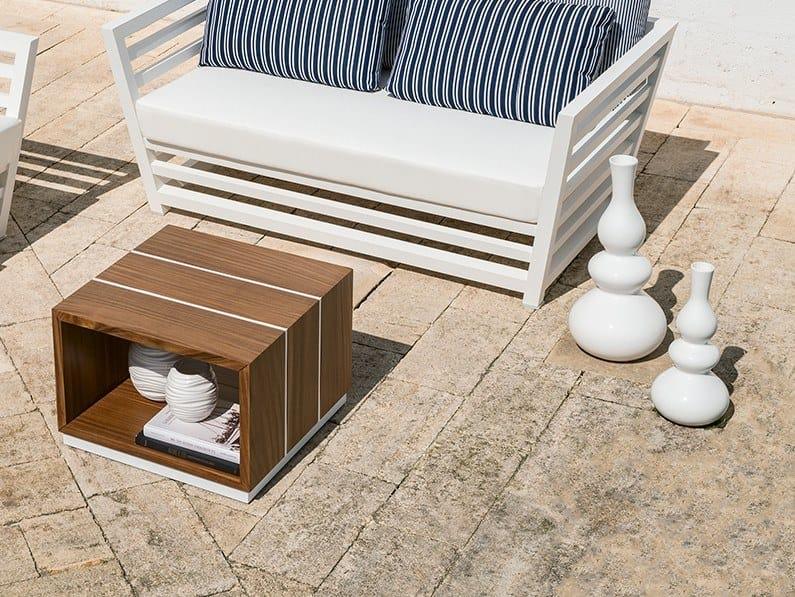 Rectangular garden side table TECLA | Coffee table by Braid