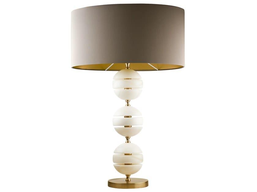 Lampada da tavolo fatta a mano in alabastro TECLA | Lampada da tavolo by Abrissi