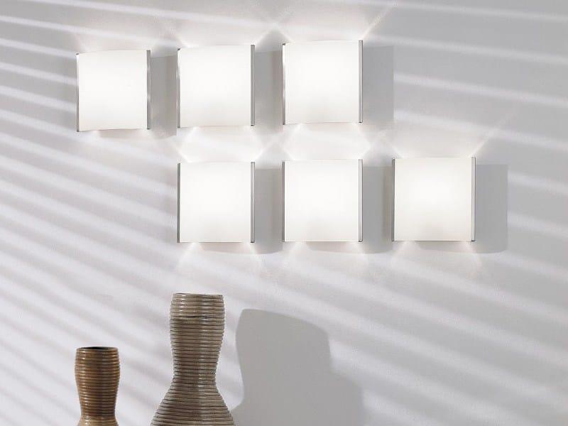 Tecla lampada da parete by panzeri