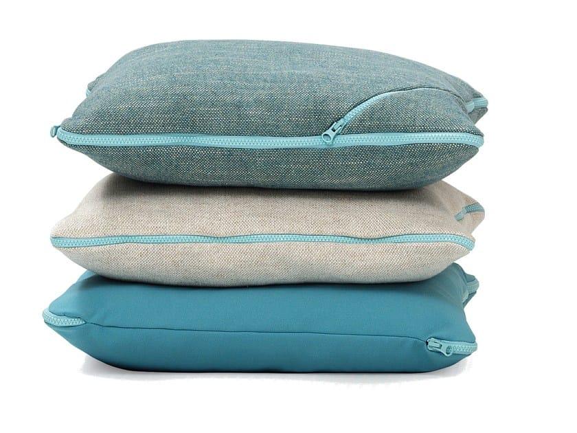Cuscino quadrato in tessuto per divani tecno cuscino quadrato