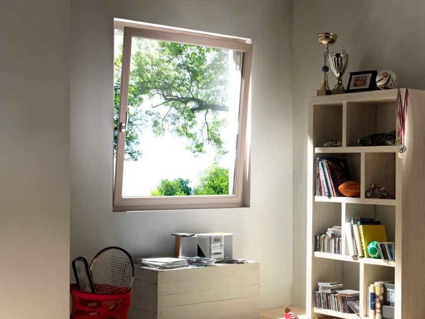 Aluminium top-hung window TECNO | Top-hung window by Diquigiovanni