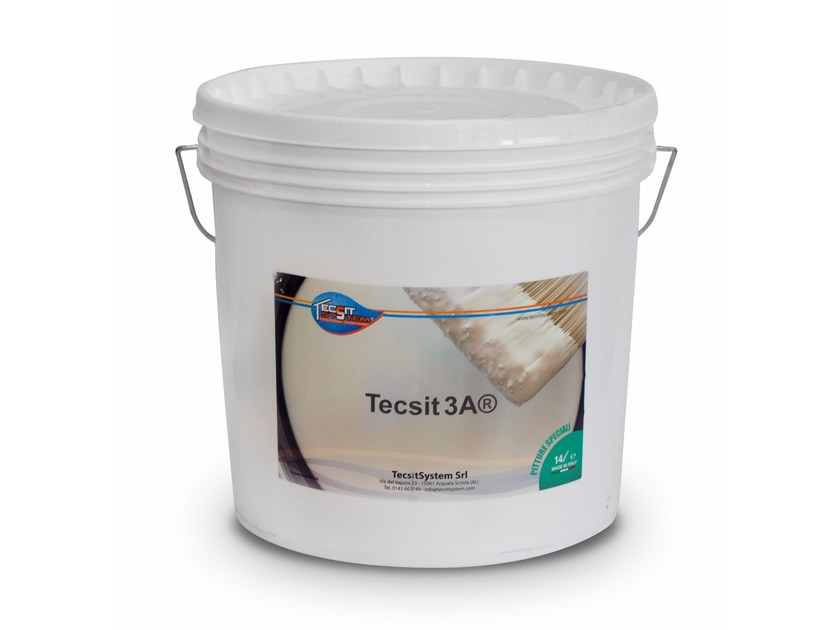 Idropittura traspirante TECSIT 3A by Tecsit System