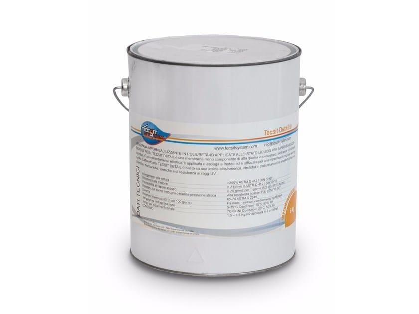 Liquid waterproofing membrane TECSIT PRO DETAIL by Tecsit System