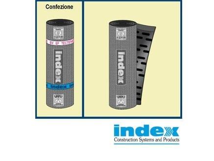 Prefabricated polymer membrane TECTENE BV STRIP EP by INDEX