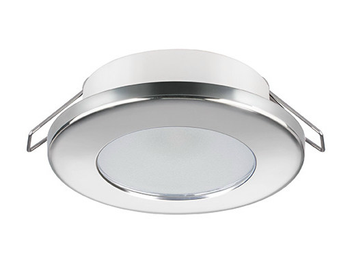 LED recessed stainless steel spotlight TED C 2W - IP40 by Quicklighting