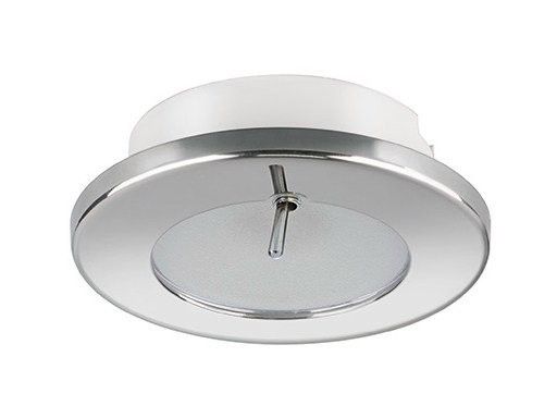 LED recessed stainless steel spotlight TED CS 2W - IP40 by Quicklighting