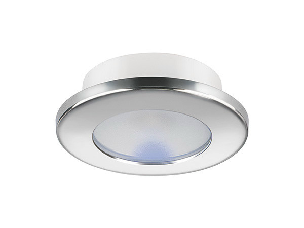 LED recessed stainless steel spotlight TED CT 2W - IP66 by Quicklighting