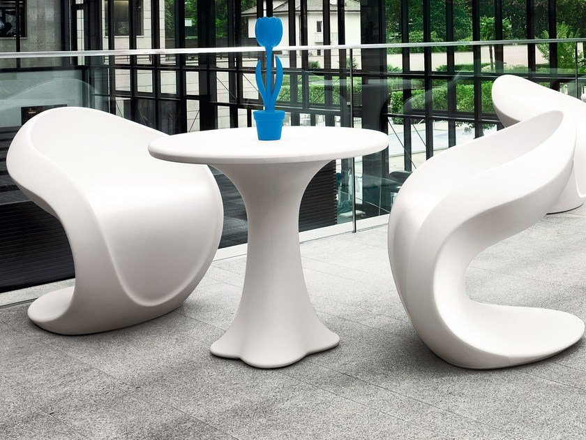 Round Poleasy® table TEDDY by Myyour