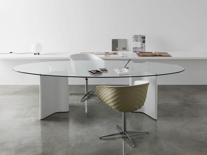 TEE | Tavolo ovale By Segis design Bartoli Design