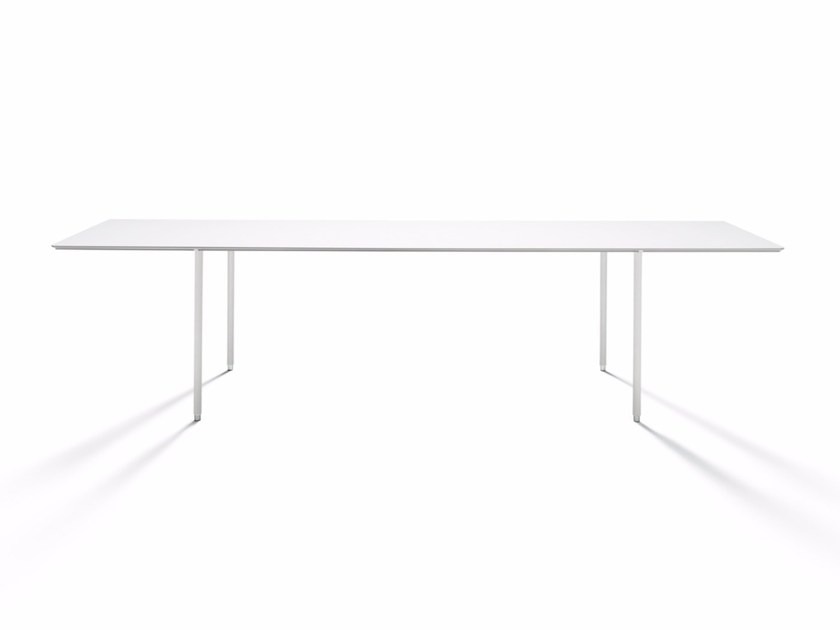 Rectangular table TEE-TABLE by DE PADOVA