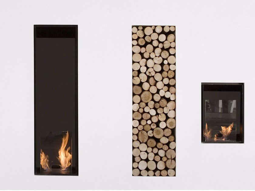 Bioethanol fireplace TEKA by Antonio Lupi Design