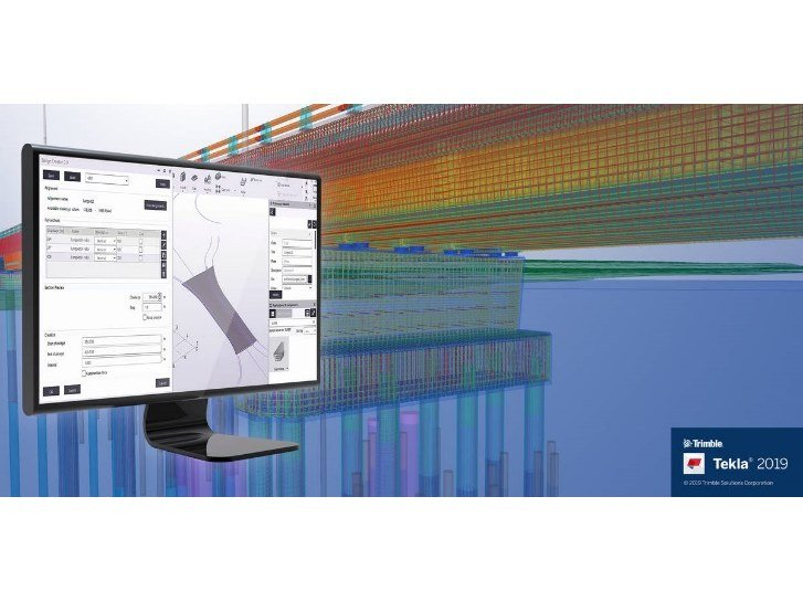 CAD-integrated structural calculation software TEKLA