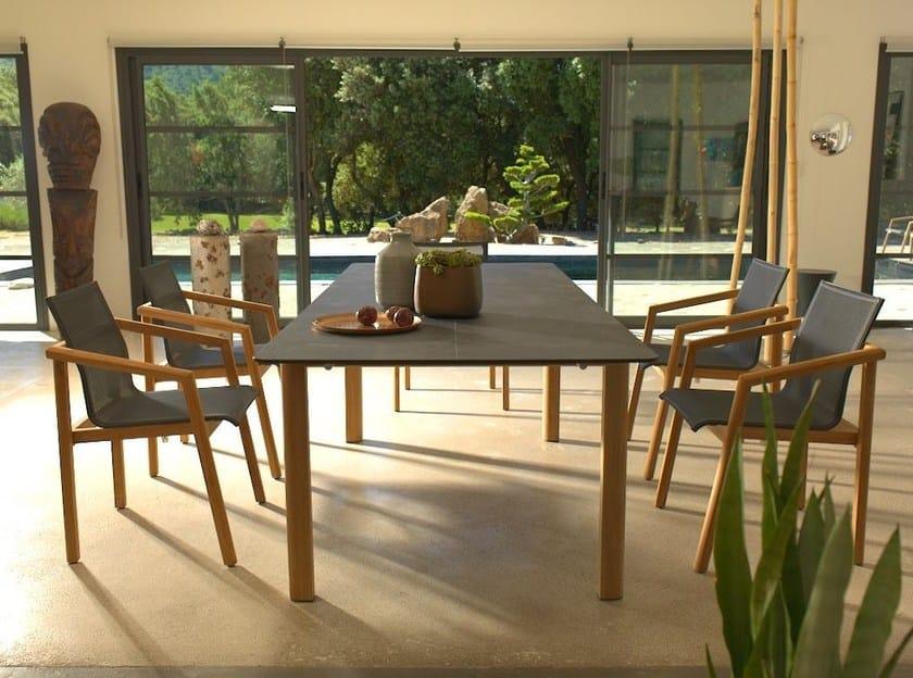 TEKURA   Tisch By Les jardins Design Claude Robin