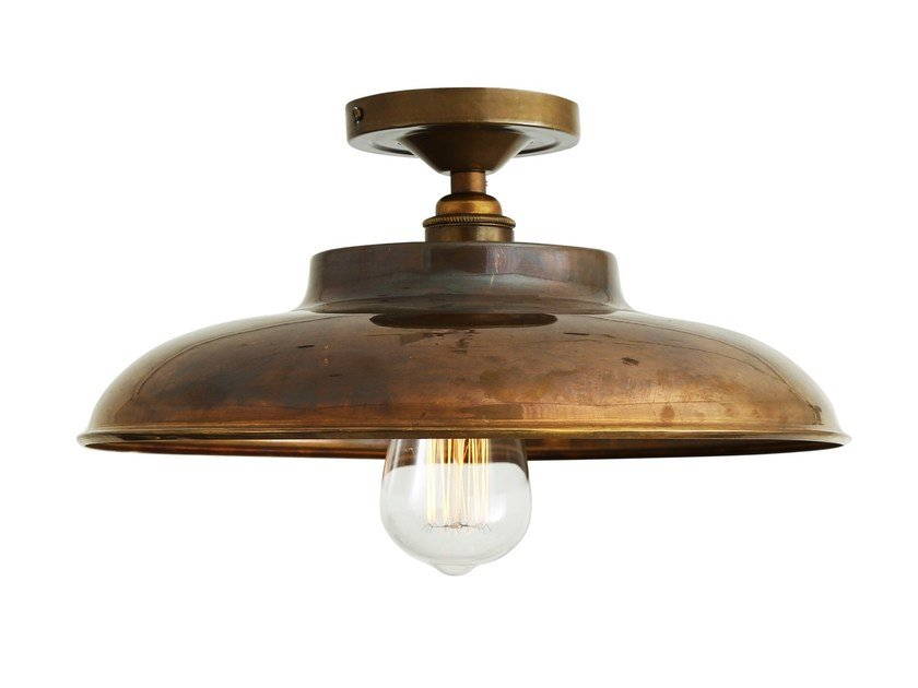 Handmade brass ceiling lamp telal ceiling lamp by mullan lighting
